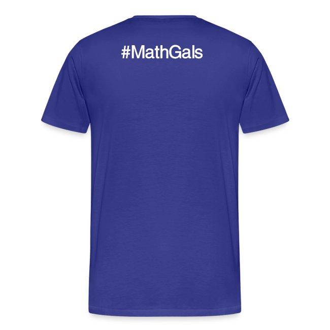 MathGals & Megan with hashtag