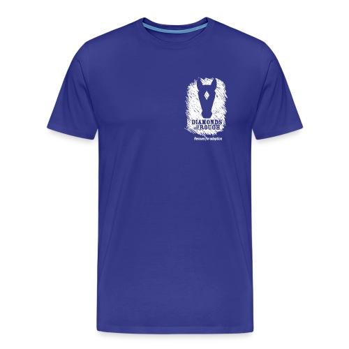 ditrlogosolid reverse - Men's Premium T-Shirt