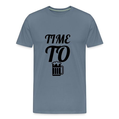 Time To Drink - Men's Premium T-Shirt