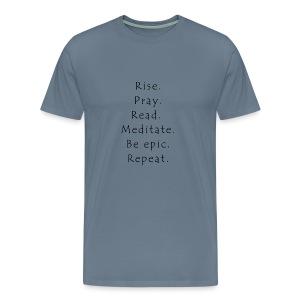 Rise... - Men's Premium T-Shirt
