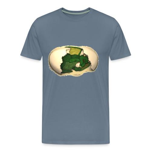 The Emerald Dragon of Nital - Men's Premium T-Shirt