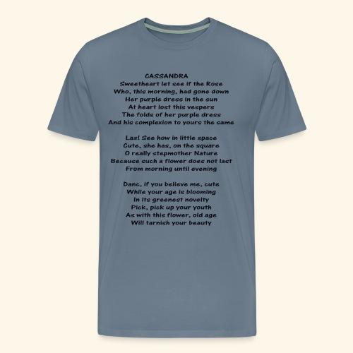 cassandra - Men's Premium T-Shirt