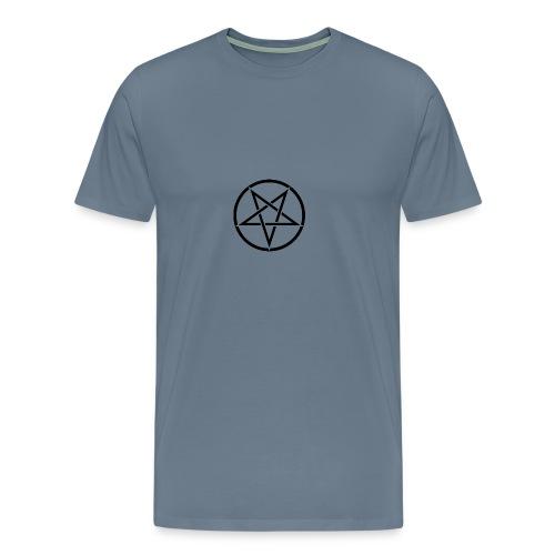 Inverted Pentagram - Men's Premium T-Shirt