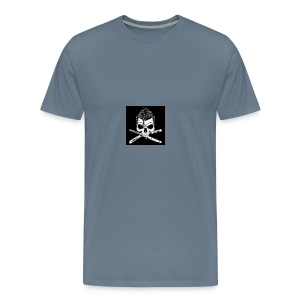 Greaser skull - Men's Premium T-Shirt