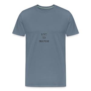 LIVE TO INSPIRE - Men's Premium T-Shirt