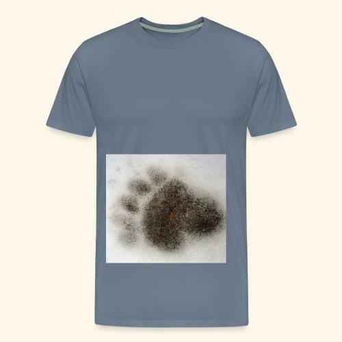 Bear footprint - Men's Premium T-Shirt