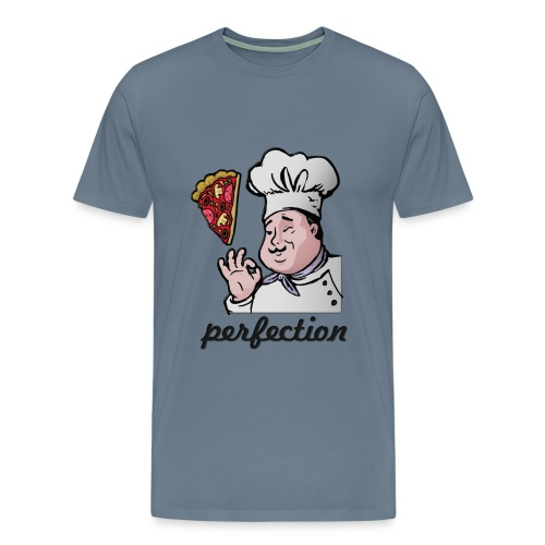 i love pizza, just perfect - Men's Premium T-Shirt
