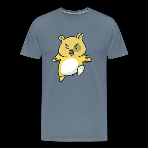 Angry Hamster I Gift Idea - Men's Premium T-Shirt