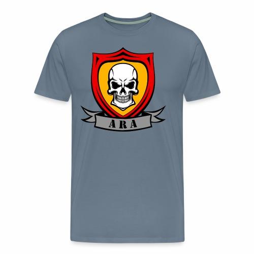 ARA Skull Logo - Men's Premium T-Shirt