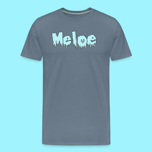 Meloe Drip Drop Logo - Men's Premium T-Shirt