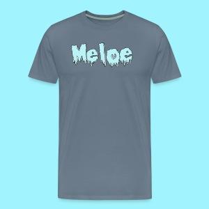 Meloe Drip Drop Logo - Men's Premium T-Shirt