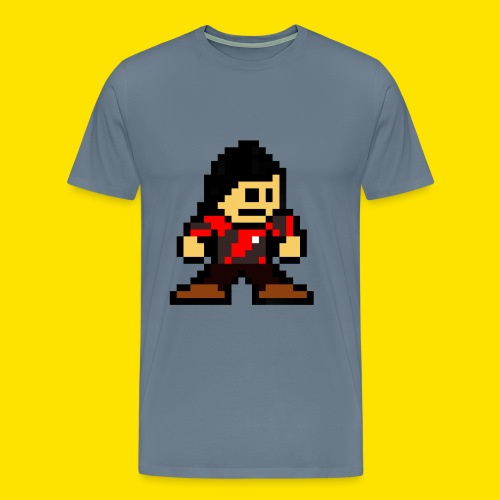 Kuna Mega Man Logo Unisex Tie-Die - Men's Premium T-Shirt