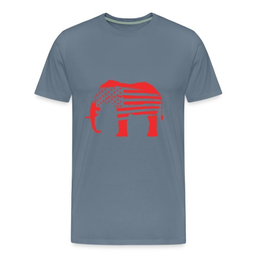 The Red Elephants Official Logo - Men's Premium T-Shirt