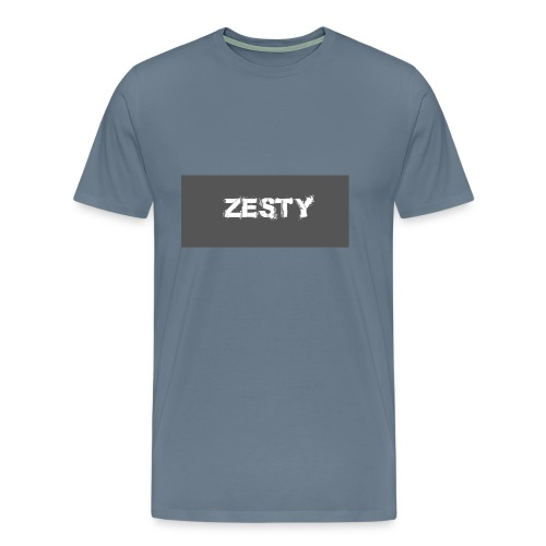 Spray Paint Font - Men's Premium T-Shirt