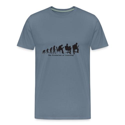 Learning_Evolution - Men's Premium T-Shirt