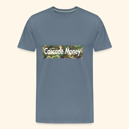 Cascade money camo - Men's Premium T-Shirt