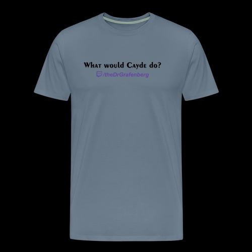 Cayde Tshirt Text - Men's Premium T-Shirt