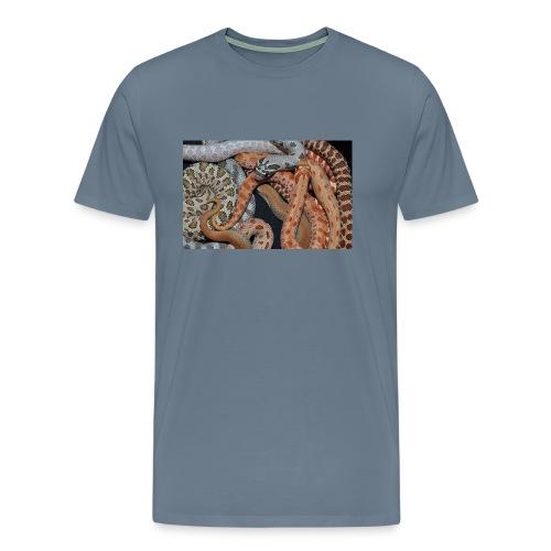Hognose Morphs Phone Cover - Men's Premium T-Shirt