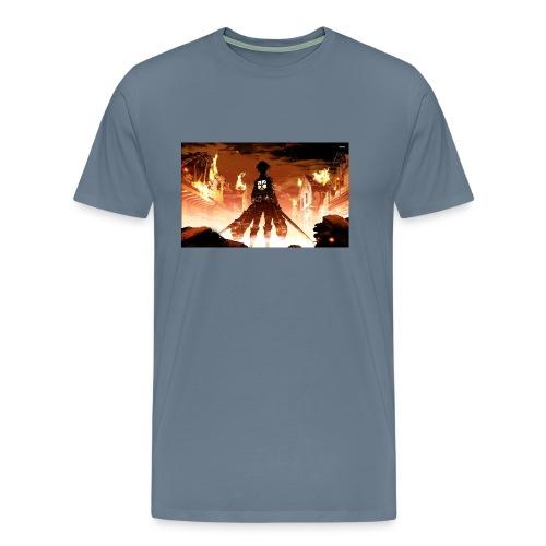 Attack of the titan - Men's Premium T-Shirt