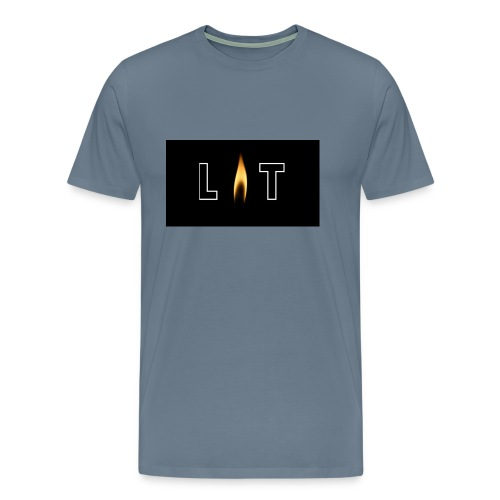 LIT LOGO DESIGN - Men's Premium T-Shirt