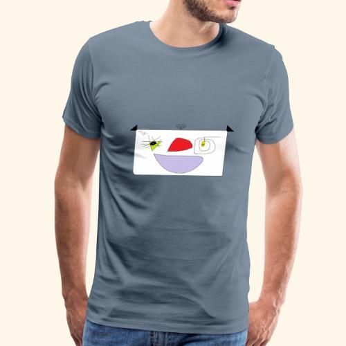 Cute cartoon. - Men's Premium T-Shirt