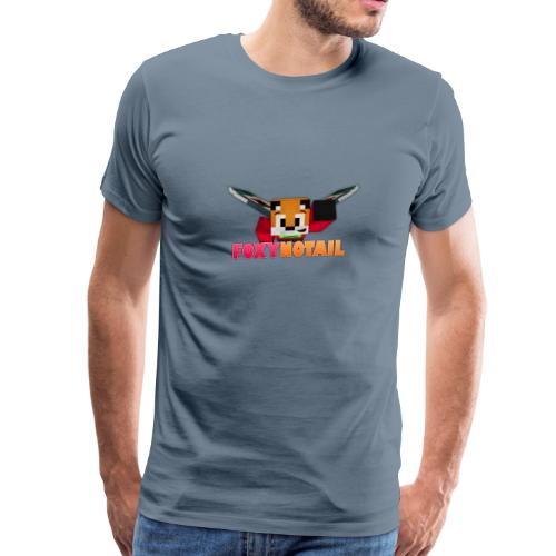 Flying + Logo - Men's Premium T-Shirt