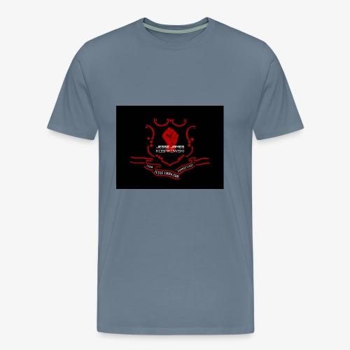 JJ MMA Connecticut Seal 1 - Men's Premium T-Shirt