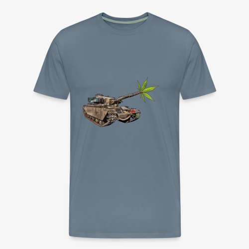 Cannabis Tank - Men's Premium T-Shirt