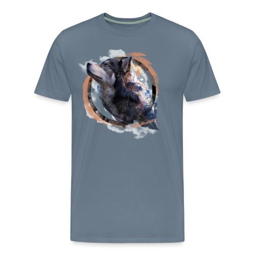 Heart of the Mountains - Men's Premium T-Shirt