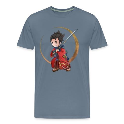 Chibi Samurai 1 - Men's Premium T-Shirt