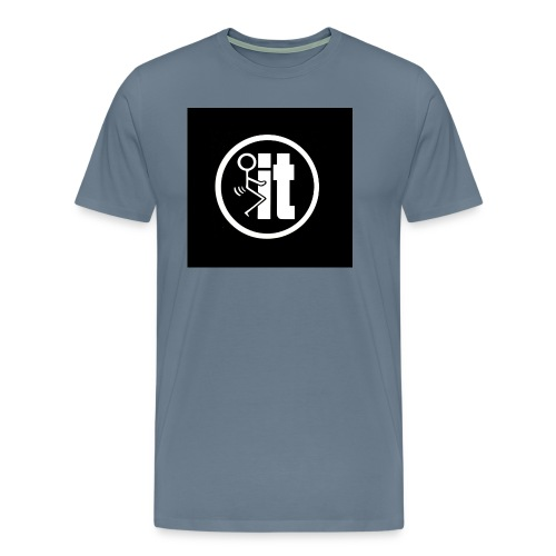 fuck it round tshirt - Men's Premium T-Shirt