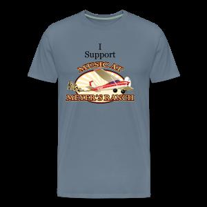 I Support - Music at Meyer's Ranch - Men's Premium T-Shirt