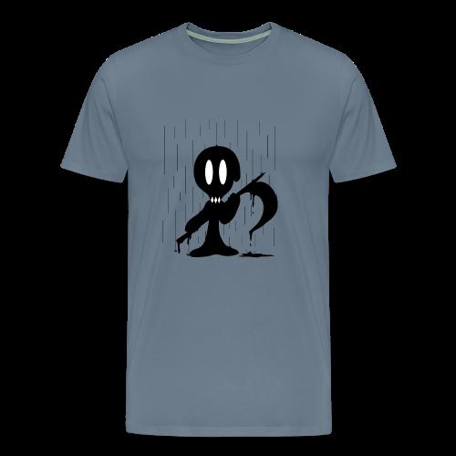 Dramatic Rain - Men's Premium T-Shirt