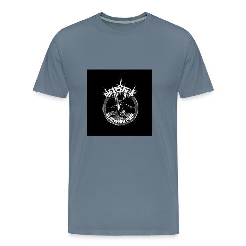 darkcharge button - Men's Premium T-Shirt