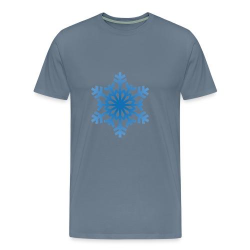 http-images-clipartpanda-com-snowflake-clipart-tra - Men's Premium T-Shirt