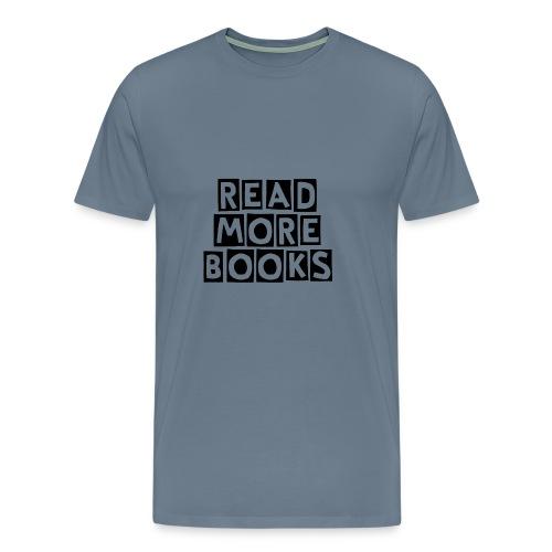 Read More Books - Men's Premium T-Shirt