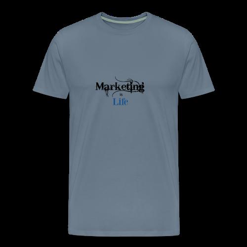 Marketing_is_Life - Men's Premium T-Shirt