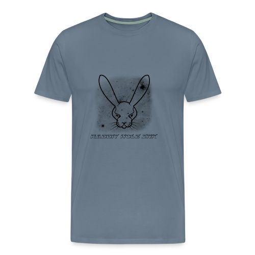 Rabbit Hole Ink Representing - Men's Premium T-Shirt