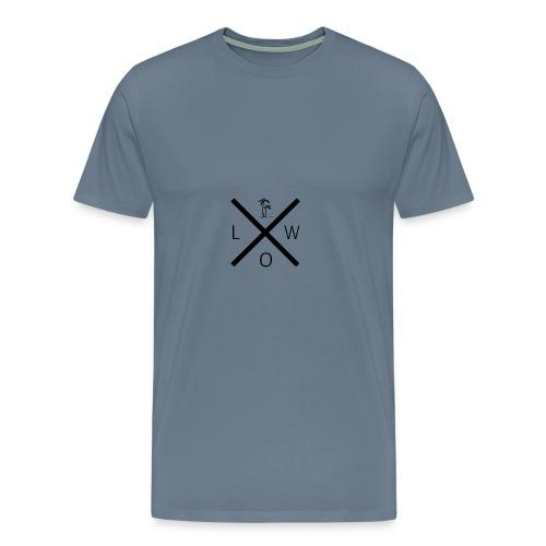 X Logo - Men's Premium T-Shirt