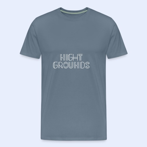 White NightGrounds Title - Men's Premium T-Shirt