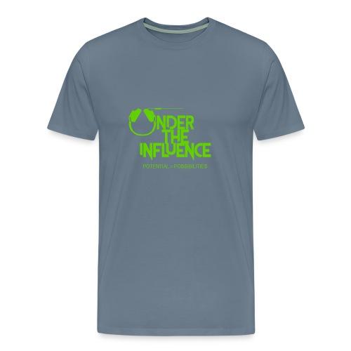 UndertheInfluenceGREEN - Men's Premium T-Shirt