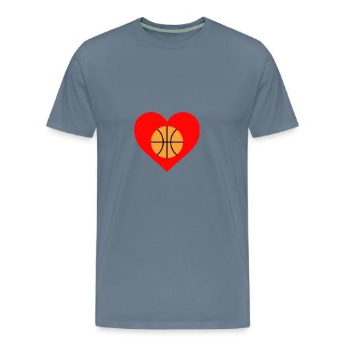 ballheartdesign - Men's Premium T-Shirt