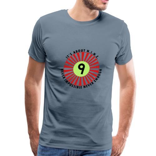 NINE Logo September 2018 - Men's Premium T-Shirt
