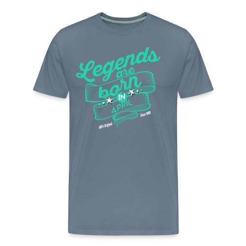 Vintage 3 Dark April - Men's Premium T-Shirt