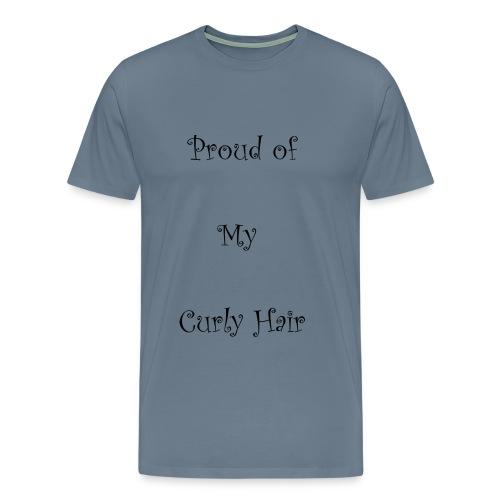 Proud of My Hair Hair - Men's Premium T-Shirt