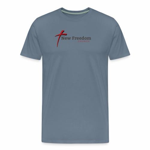New Freedom Church OFFICIAL LOGO - Men's Premium T-Shirt