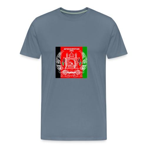 Afghan Logo-Flag Colors - Men's Premium T-Shirt