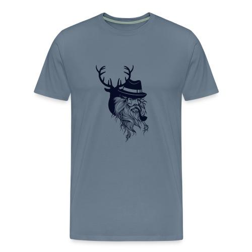 Santa's Reindeer - Men's Premium T-Shirt
