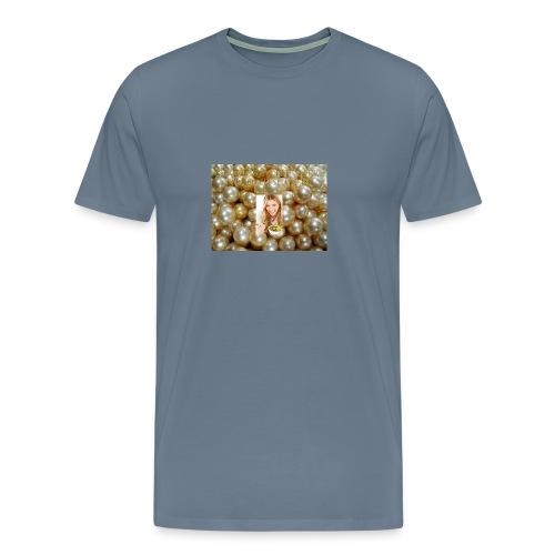 golden pearls - Men's Premium T-Shirt
