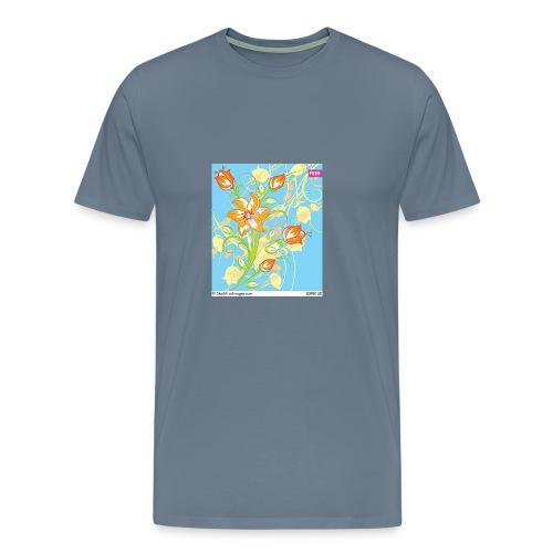 flowers67 - Men's Premium T-Shirt